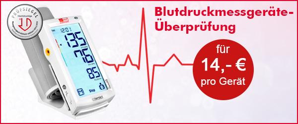 Blutdruckmessgeräte-Überprüfung für 14,-