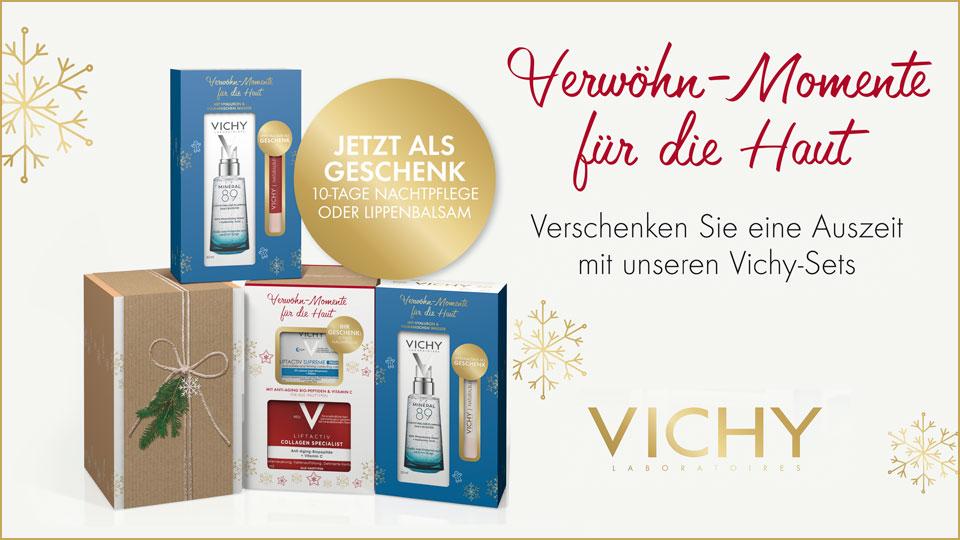 Vichy Geschenksets mit Gratiszugabe