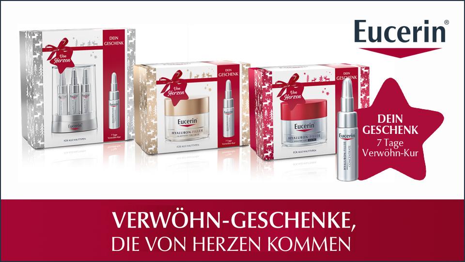 Eucerin® Geschenksets mit Gratiszugabe