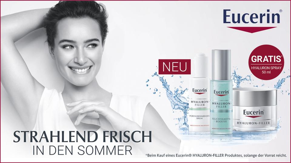 Eucerin® - gratis Hyaluron Spray