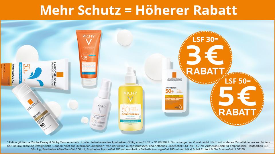 La Roche-Posay - 5 Euro bei Sonnenschutz sparen