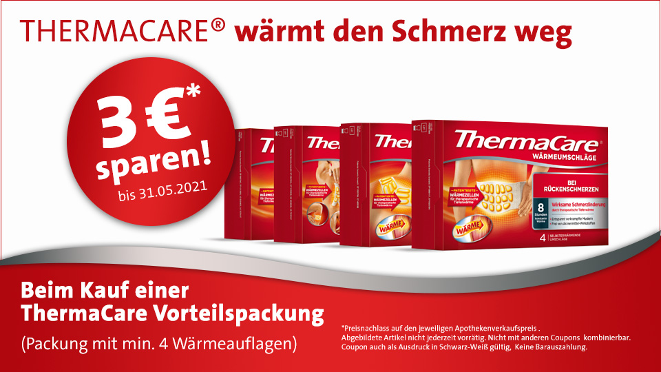 ThermaCare 3 Euro sparen