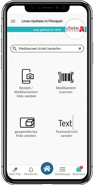 BIld: Handybestellung per callmyApo